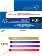 An adjustment Reform towards a more integrated innovation system strengthening