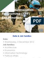 Naciones Unidas YPP 2012