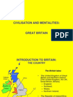 British Civilisation -  Dr. Sorin tefănescu (Lucian Blaga University)