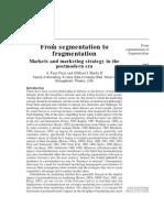 From Segmentation to Fragmentation