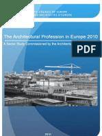 Profesiunea de Arhitect in Europa