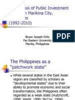 Public Investment Policies in Marikina City, Philippines.ppt