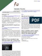 SGCafe Special Interests Forums