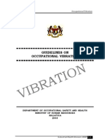 6. Guidelines on Occupational Vibration