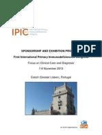 IPIC 2013 Sponsorship Proposal_FINAL 2012 12 01