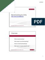 Benchmarking for CIOs (166242094)
