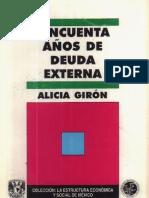 7.50 años de deuda externa.Giron
