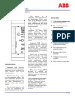 ABB ICSTT-SDS-8110 - En Plantguard TMR Processor P8110