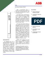 ABB ICSTT-SDS-8402 - En Plantguard Dual 24 VDC Digital Input Module P8402