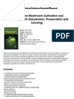 Handbook on Mushroom Cultivation and Processing (With Dehydration, Preservation and Canning)