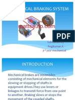 Mechanical Braking System