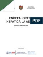protocol clinic - Encefalopatie Hepatica