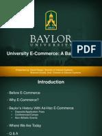 University E-Commerce