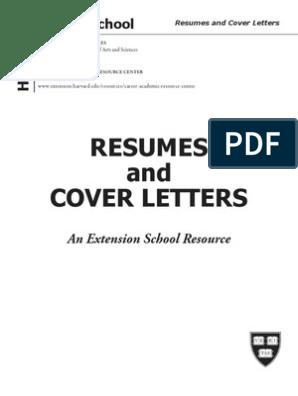 Resume Cover Letter | Résumé | Postgraduate Education
