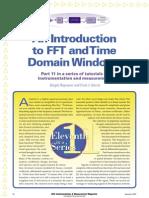 FFT - Instrumentacion