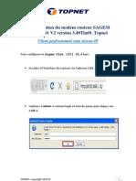 Sagem F@St 1201 V2 Version 3.49Tla69 Topnet Professionnel