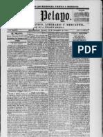 El Pelayo 1851 [Spanish language Newspaper in New Orleans]