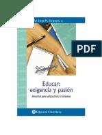 Educar_ Exigencia y Pasion - Jorge Bergoglio