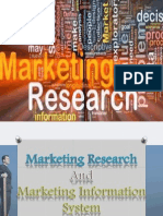 Marketing Research and MIS
