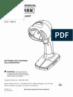 C3 Craftsman Worklight - Incandescent