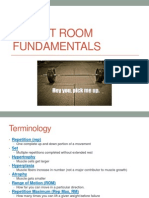 Lecture 2 - Weight Room Fundamentals