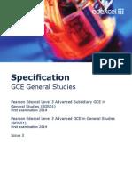 UA035233 GCE Lin GenStu Issue 3