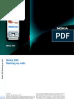Nokia E65 Backing Up Data En
