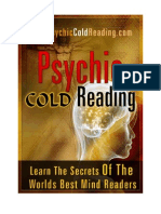 Handbook of Psychic Cold Reading Final - Dantalion jones