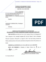 13 22131 015 Order Granting Extension