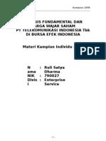 9220370 Analisis Fundamental Saham TLKM