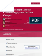 Selecting the Right Desktop Conferencing System for Your Campus (166270631)