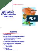 GSM - Rf Optimization