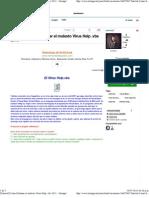 [Tutorial] Como Eliminar El Molesto Virus Help .Vbs 2013 - Taringa!