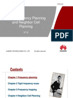 GSM Frequency Planning & Neighbor Cell Planning