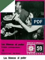 Enciclopedia Uruguaya 59 Los Blancos Al Poder