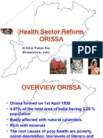 Health Sector Reform in Orissa