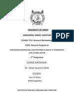 Research Proposaluasdfsdf