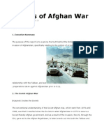 Origins of Afghan War