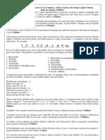 Questões sobre os textos Soneto 11, de Camões.