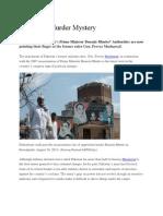 Pakistan's Murder Mystery