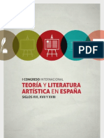 Libro de Resúmenes del Primer Congreso Internacional sobre Teoría y Literatura Artística de los siglos XVI a XVIII (Málaga, 10-12 abril 2013)