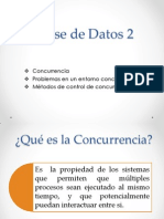 BASE DE DATOS CONCURRENCIA
