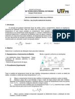 Pratica7- Dilatacao Linear Dos Solidos