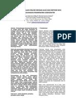 Jurnal Jikom - Sistem Perwalian Online Dengan Ajax Dan Teknik Mvc Menggunakan Framework Codeignit