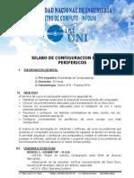 Silabo de Configuracion y Perifericos..