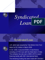 syndicated loan