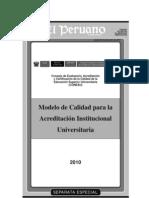 Modelo - Institucional