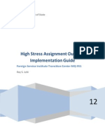High Stress Assignment Outbrief Implementation Guide