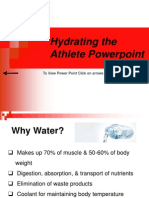 hydrating the athlete