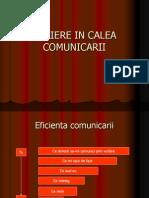 Bariere in Calea Comunicarii